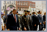 John Murtha at Veteran's parade, 1989.