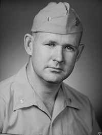 Military portrait of John Murtha, 1960.