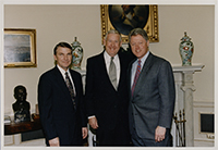 John Murtha with President Bill Clinton, 1990s.